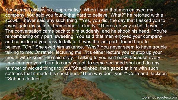 Quotes About Celia