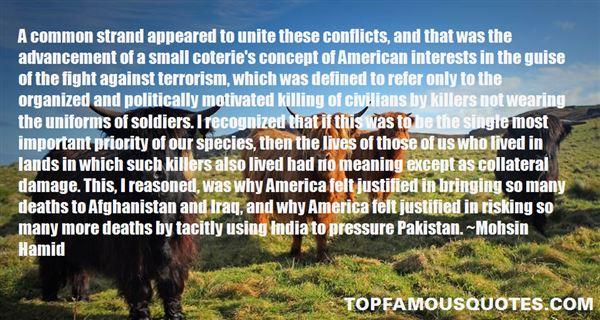 Quotes About Civilians