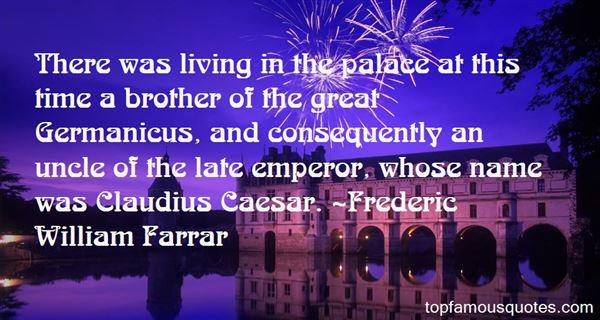 Quotes About Claudius