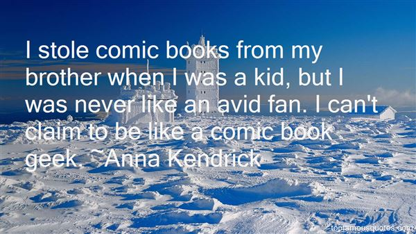 Quotes About Comic Books