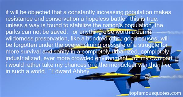 Quotes About Conservation