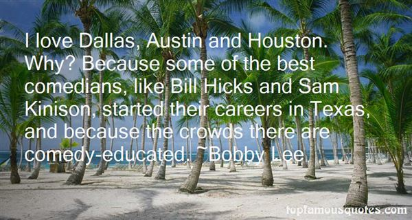 Quotes About Dallas Texas