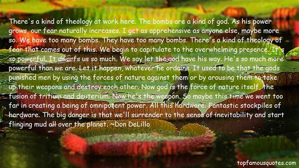 Quotes About Deuterium