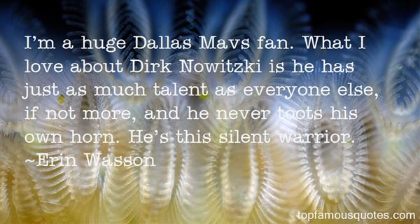Quotes About Dirk Nowitzki
