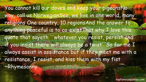 Quotes About Doves And Peace