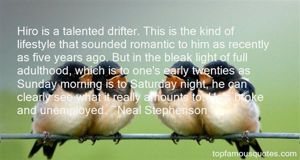 Quotes About Drifter