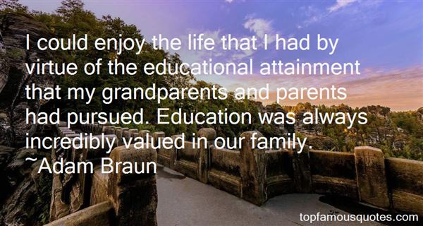 Quotes About Educational Attainment
