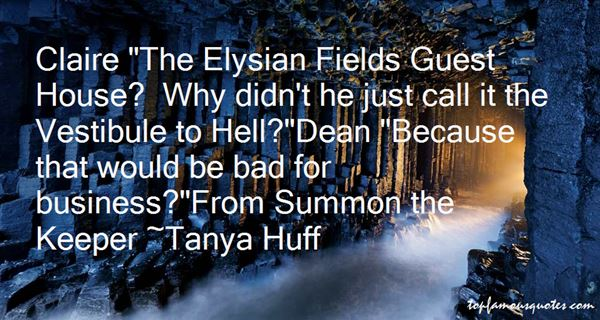 Quotes About Elysian