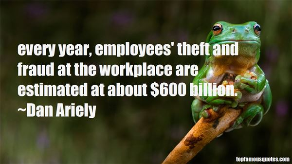 Quotes About Employee Theft