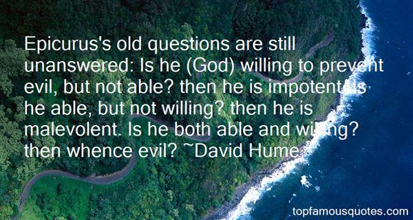 Quotes About Epicurus God