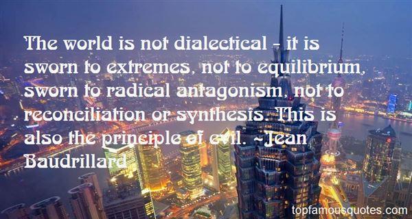 Quotes About Equilibrium