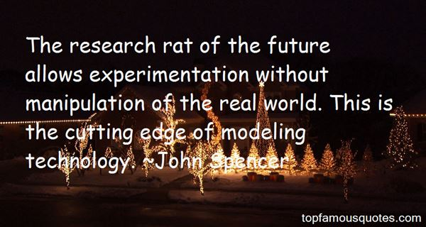 Quotes About Experimentation