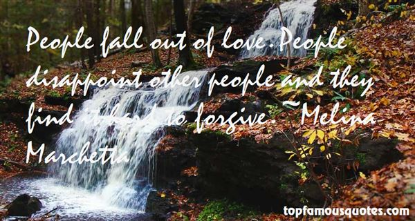 Quotes About Fall Out Of Love