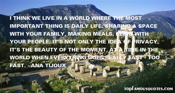 Quotes About Family Meal Time
