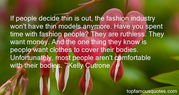 Quotes About Fashion Models