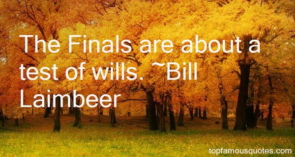 Quotes About Finals