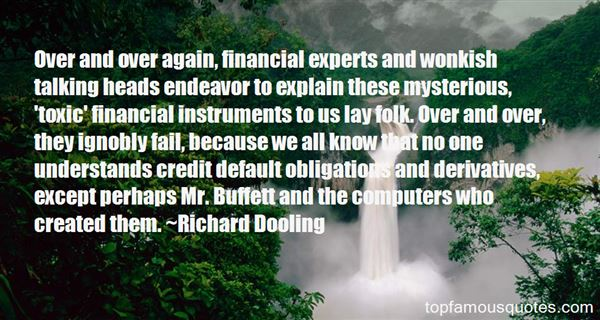 Quotes About Financial Derivatives