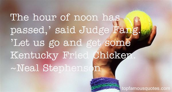 Quotes About Fried Chicken