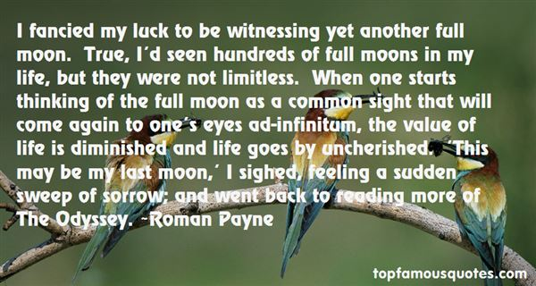 Quotes About Full Moons