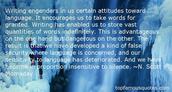 Quotes About Gender Sensitivity