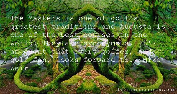Quotes About Golf Courses