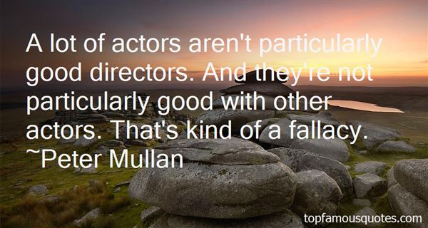 Quotes About Good Directors