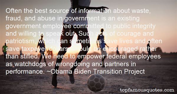Quotes About Government Employees