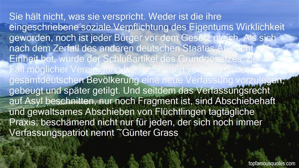 Quotes About Grundgesetz