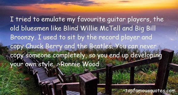 Guitar Players Quotes: best 19 quotes about Guitar Players