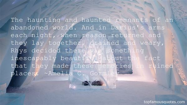 Quotes About Haunted Memories