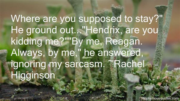 Quotes About Hendrix