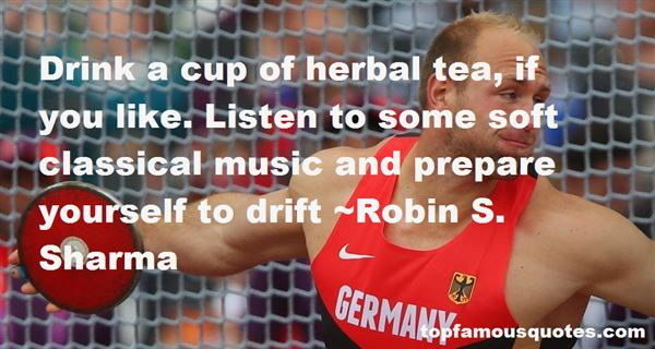 Quotes About Herbal Tea