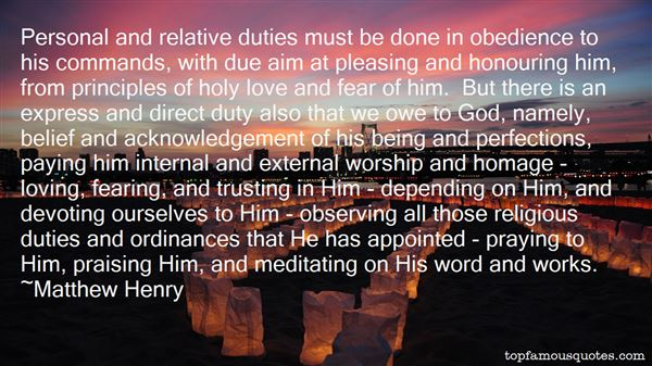 Quotes About holy