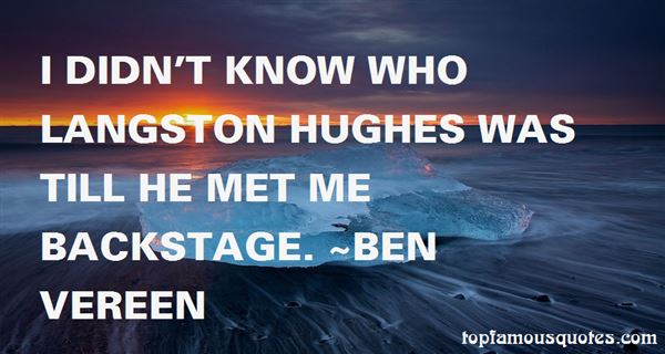 Quotes About Hughes
