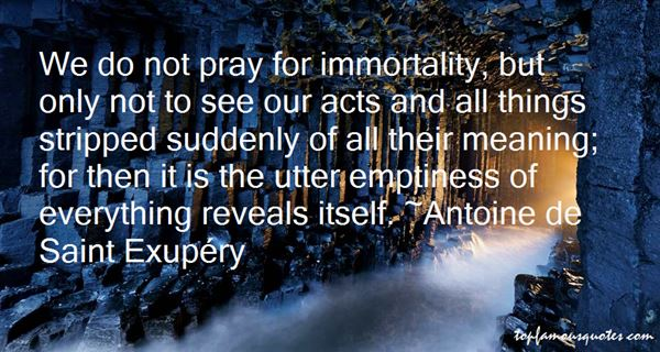 Quotes About Immortality
