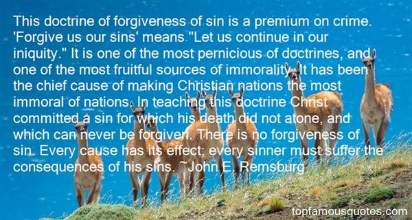 Quotes About Iniquity