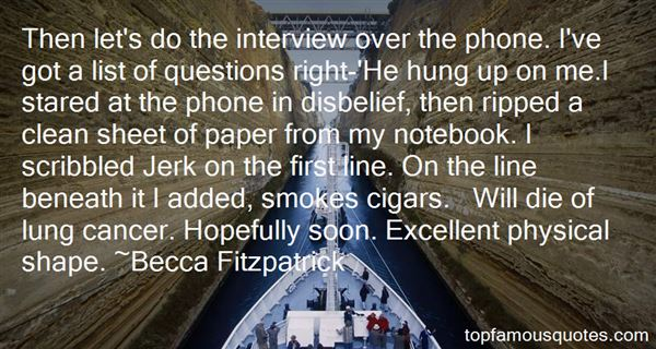 Quotes About Interview Questions