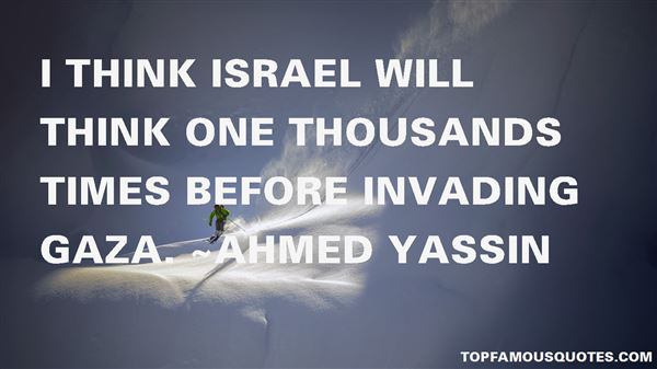Quotes About Israel And Gaza