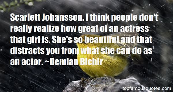 Quotes About Johansson
