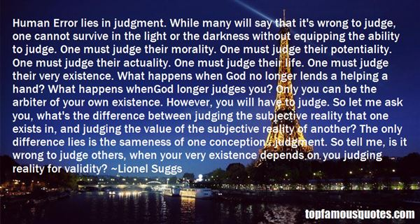 Quotes About Judges Others