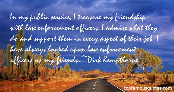 Quotes About Law Enforcement Officers