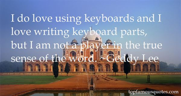 Quotes About Love Keyboard