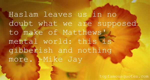 Quotes About Matthew