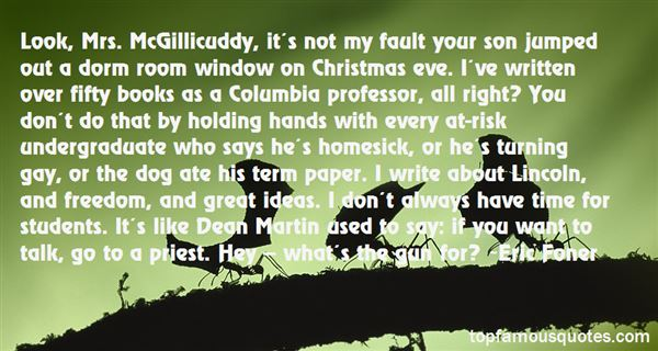 Quotes About Mcgillicuddy