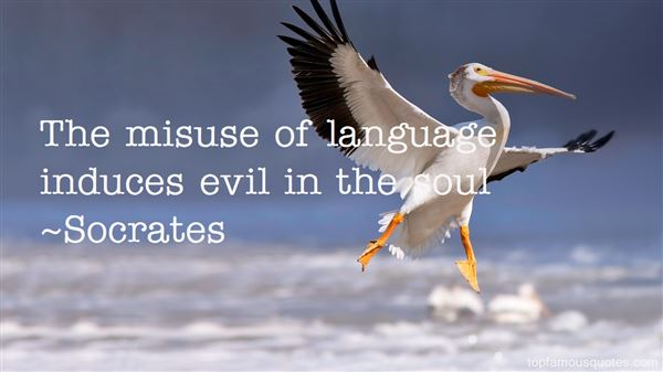 Quotes About Misuse Of Language