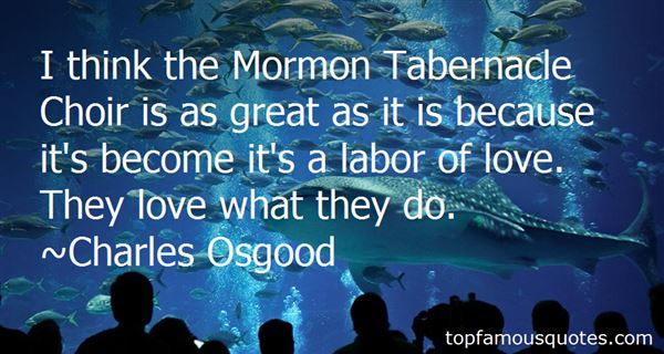 Quotes About Mormon Love