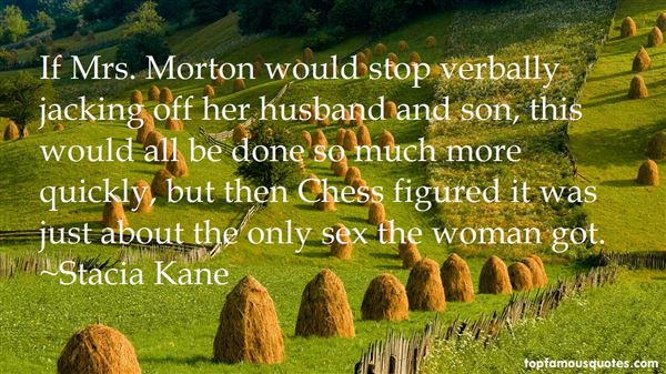 Quotes About Morton