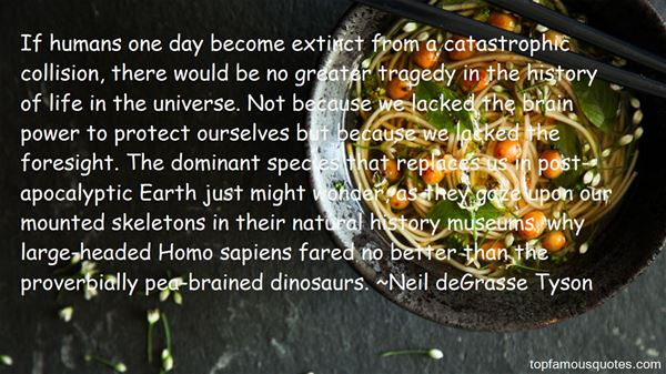 Quotes About Natural History Museums
