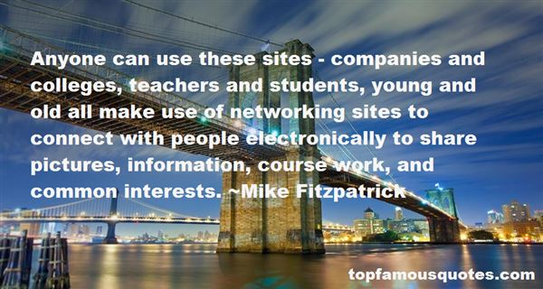 Quotes About Networking Sites