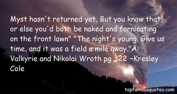 Quotes About Nikolai
